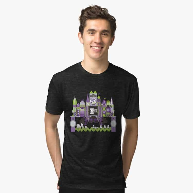 It's a Small World and Haunted Mansion Disneyland Shirts
