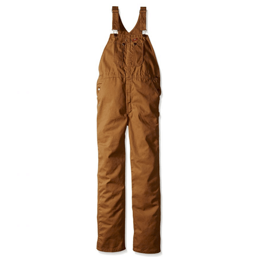 Dickies Boys Bib Overall, Brown Duck