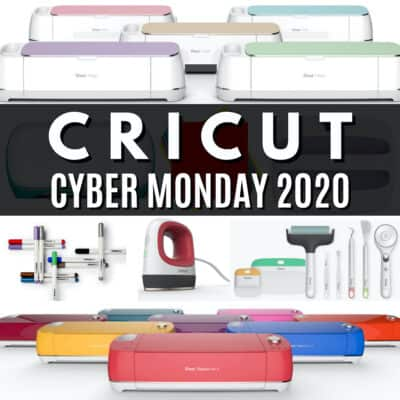 CRICUT CYBER MONDAY DEALS 2020