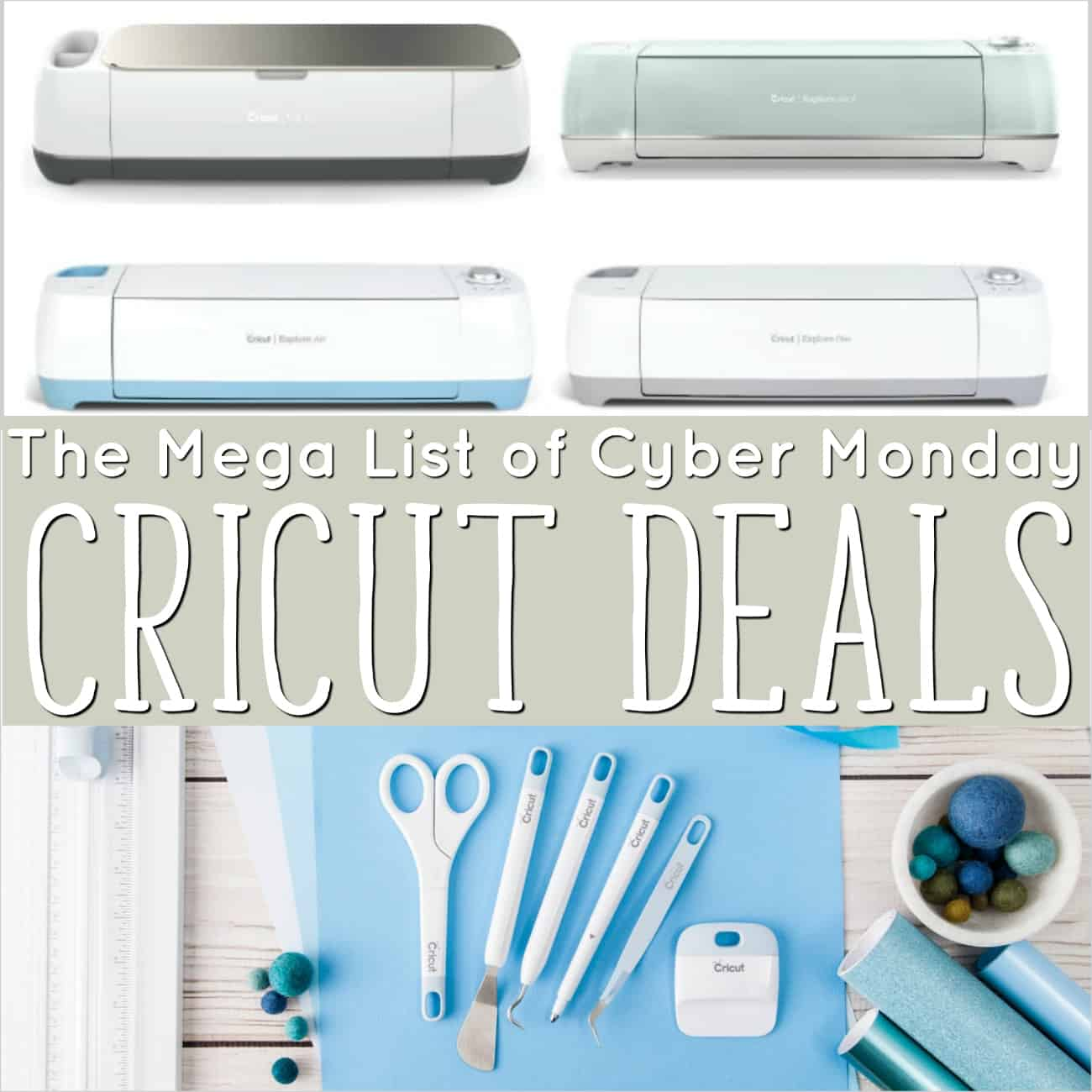 Cricut Cyber Monday 2018 deals