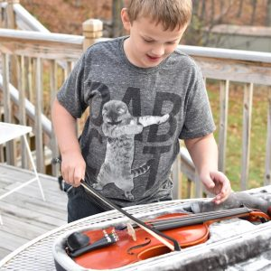 """I Want to Play the Violin"" Getting Kids Started with a String Instrument"