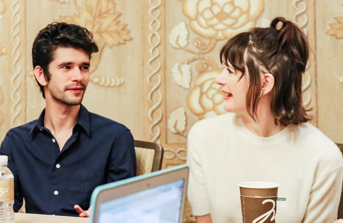 Emily Mortimer and Ben Whishaw Mary Poppins Returns