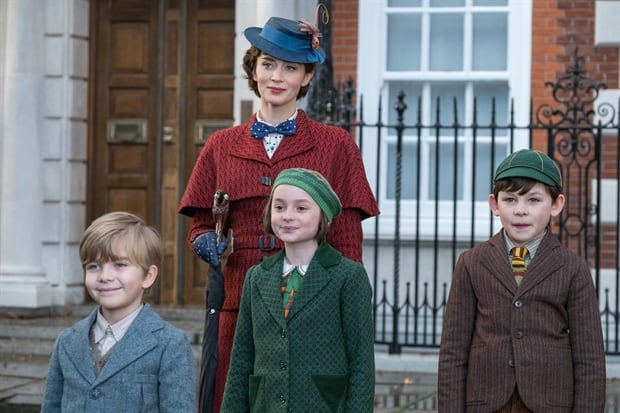 Mary Poppins Returns Parents guide Emily Blunt and Children