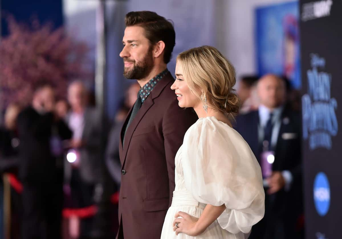 Mary Poppins Returns premiere John Krasinski and Emily Blunt