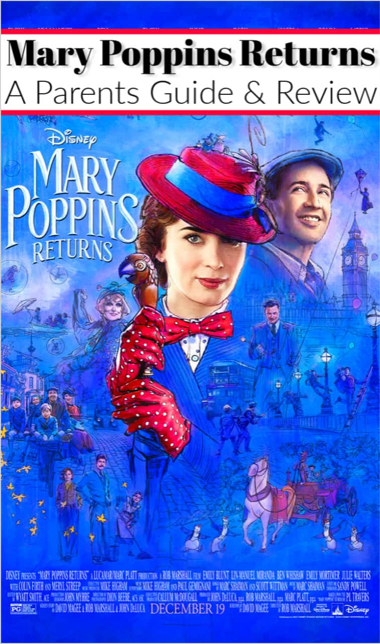 Mary Poppins Returns Parents Review