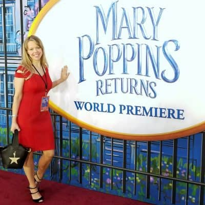 Marybeth Hamilton at Mary Poppins Returns premiere