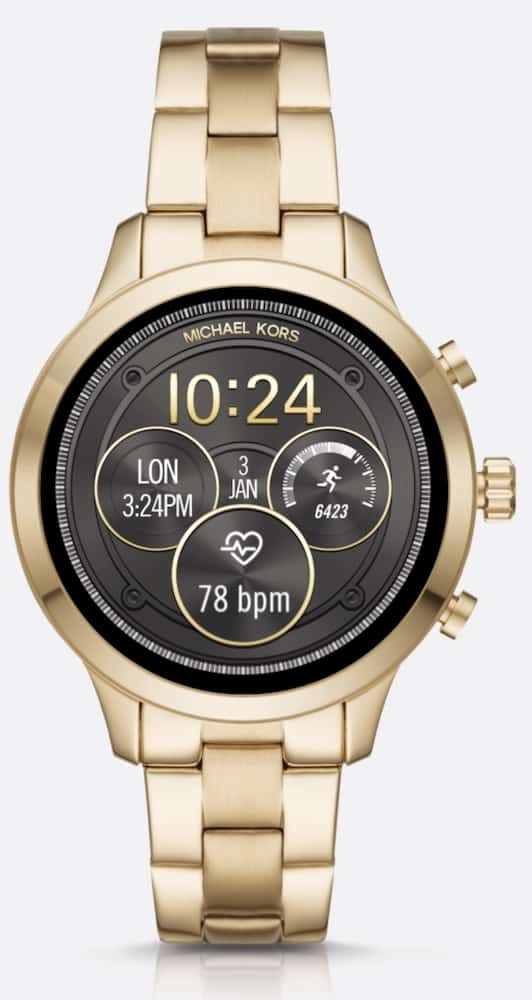 Michael Kors Smartwatch face