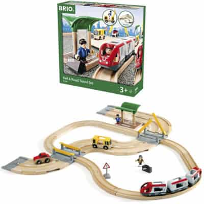 Brio Road and Rail Travel Set Review