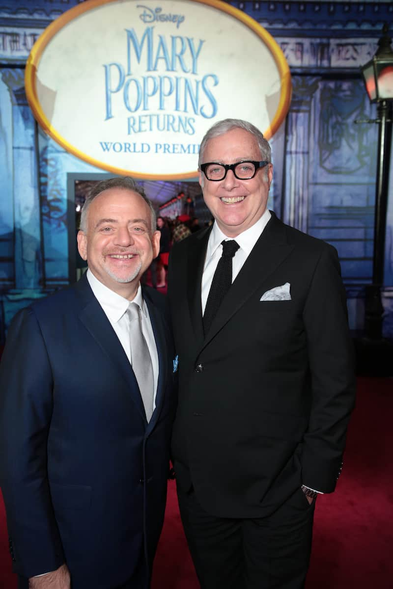 Marc Shaiman Scott Wittman Mary Poppins Returns music