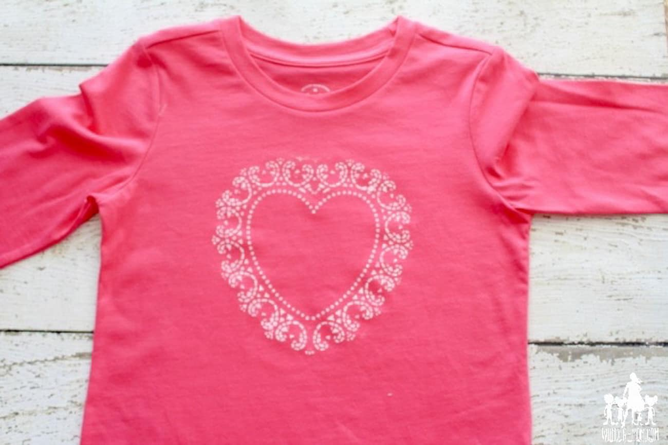 Valentine crafts for kids homemade shirt