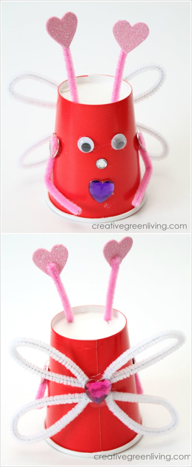 Valentine crafts for kids Love Bugs