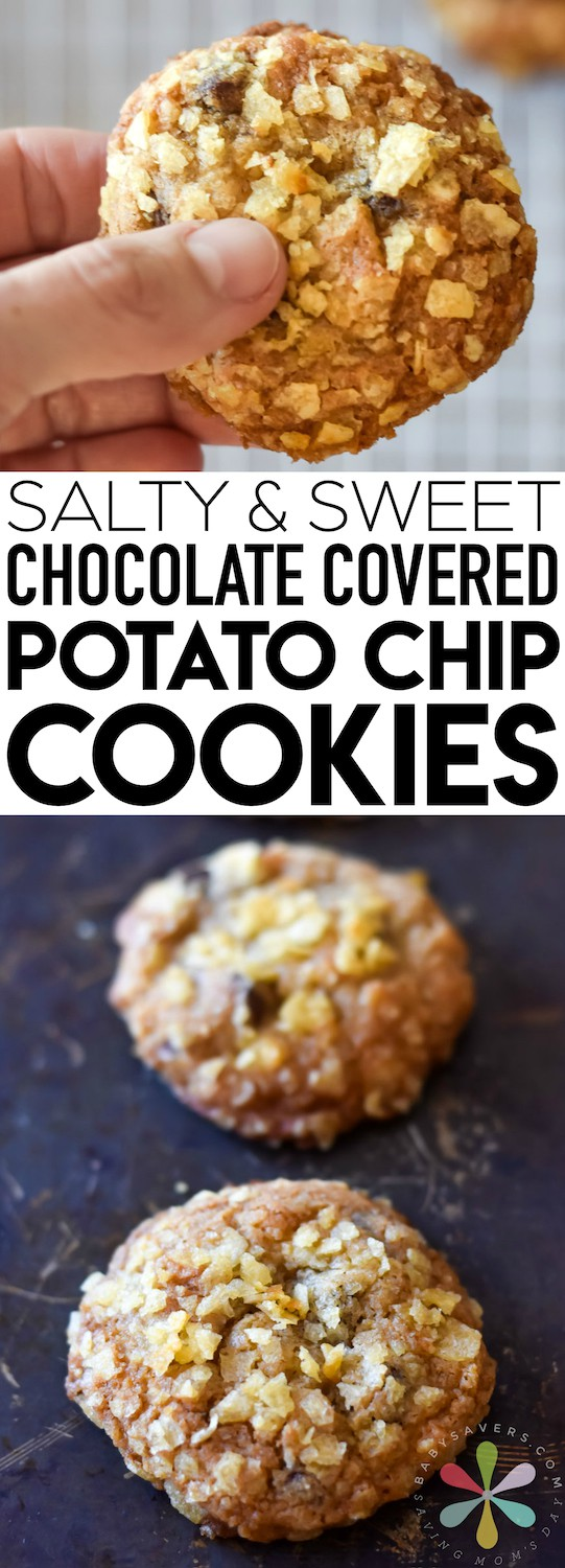 The best potato chip cookies recipe