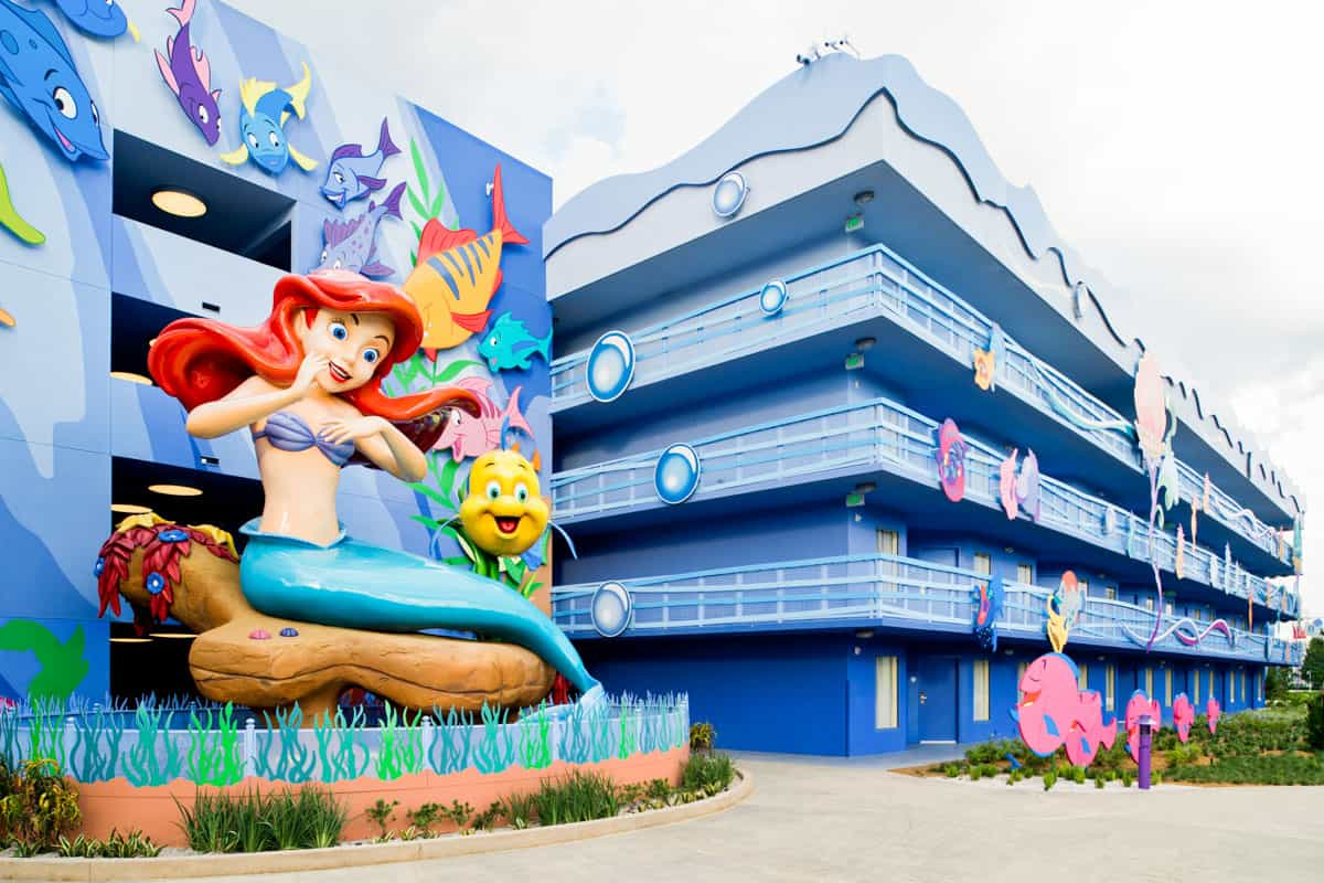 Disney World Vacation hotel on a budget