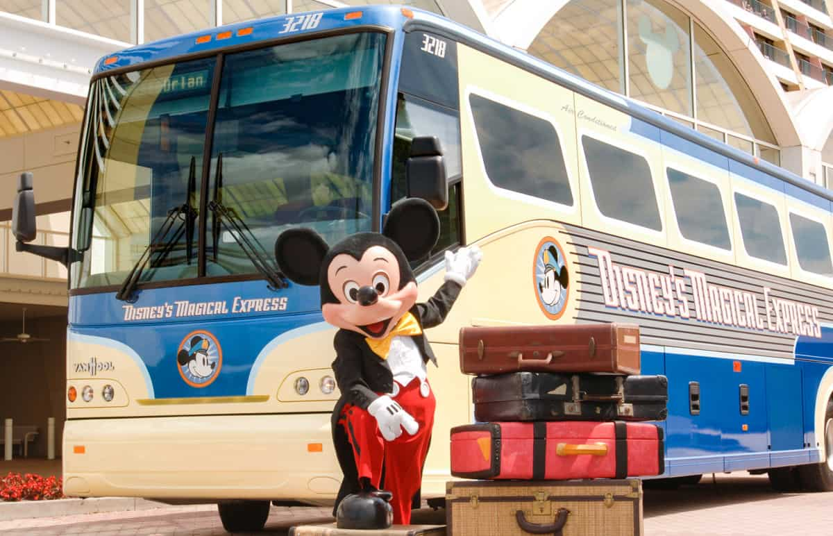 Disney World Vacation transportation