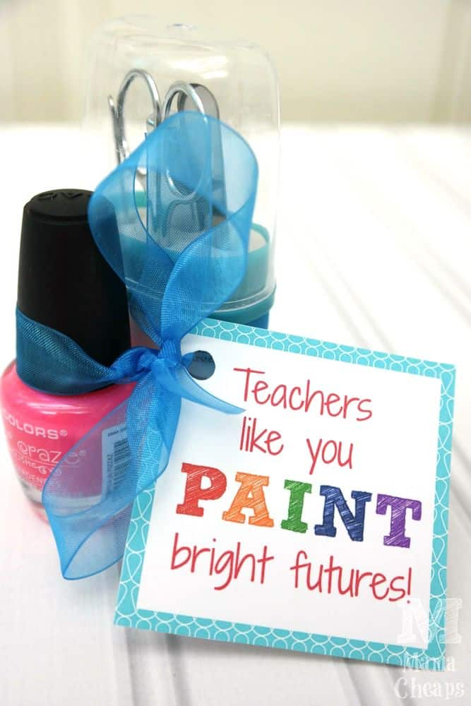 teacher appreciation printable nail polish