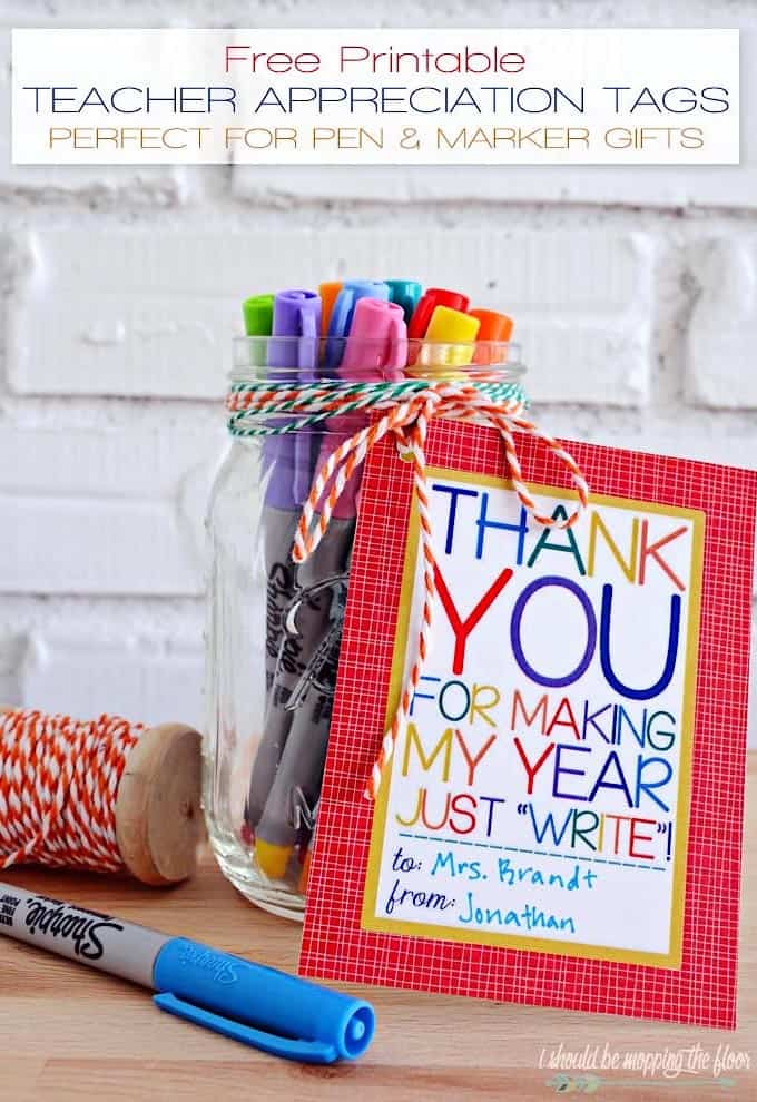 teacher appreciation printables pens and pencils