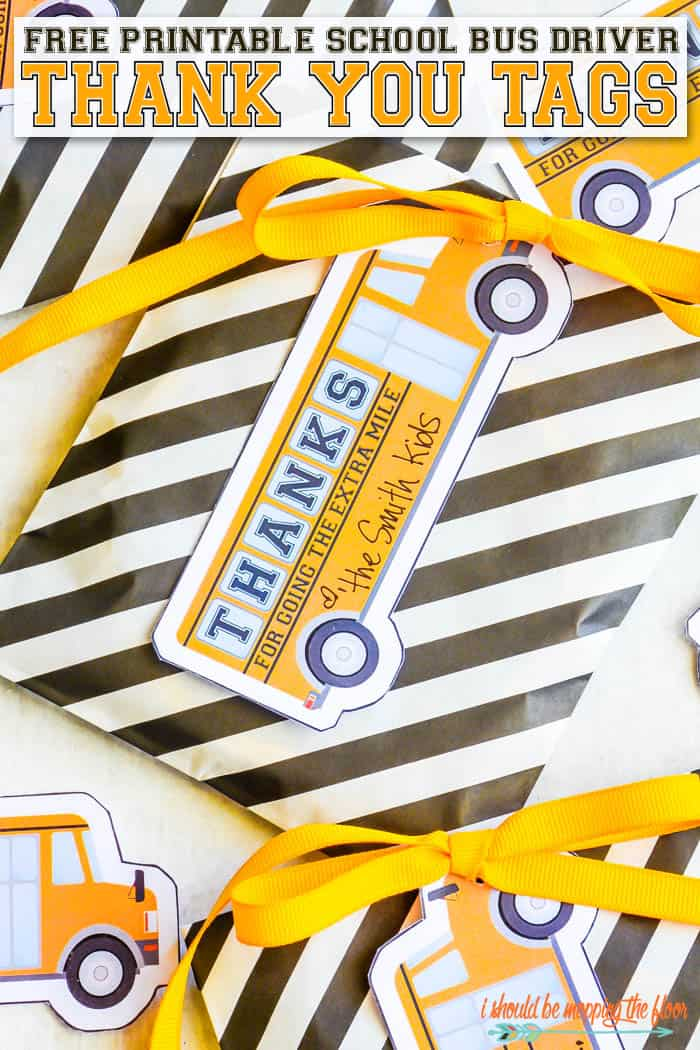 teacher appreciation printables school bus