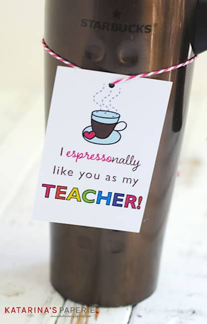 teacher appreciation printables starbucks