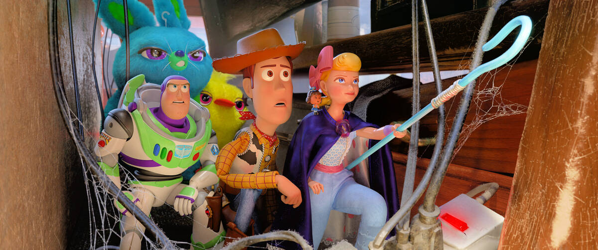 Toy Story 4 parent review Buzz Woody and Bo Peep