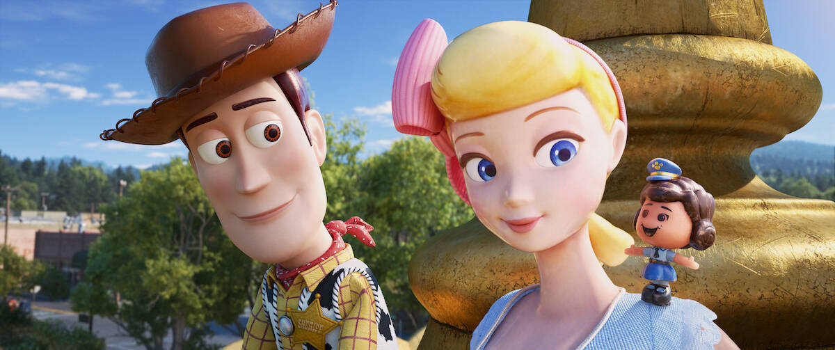 Toy Story 4 parent review woody and bo peep