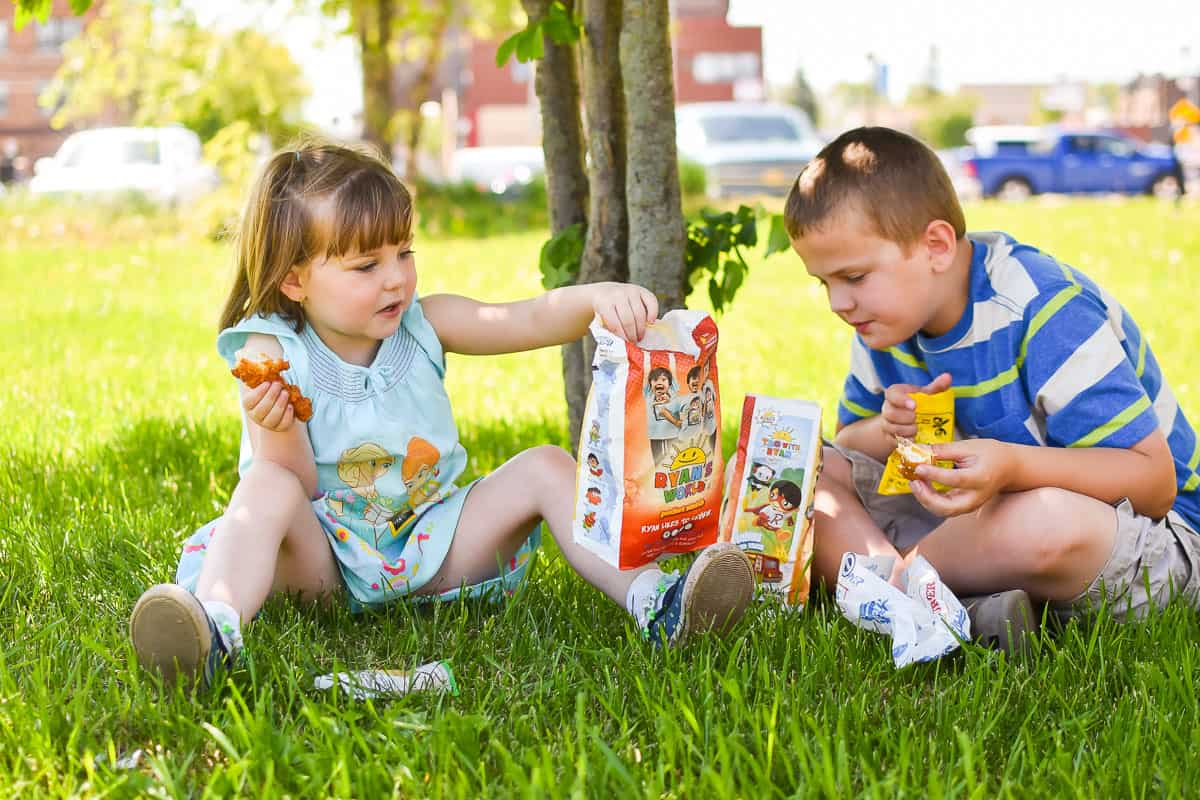 Hardees kids meals toys from Ryans Toy Review
