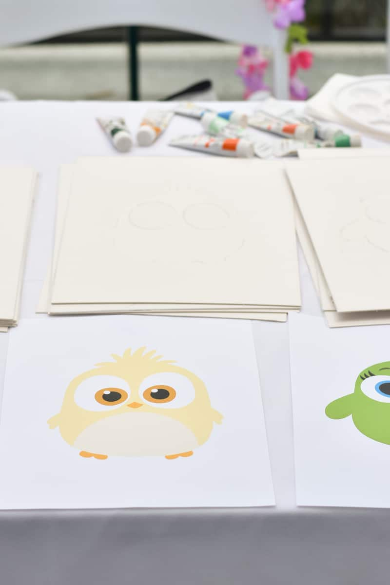 Angry Birds 2 hatchling painting