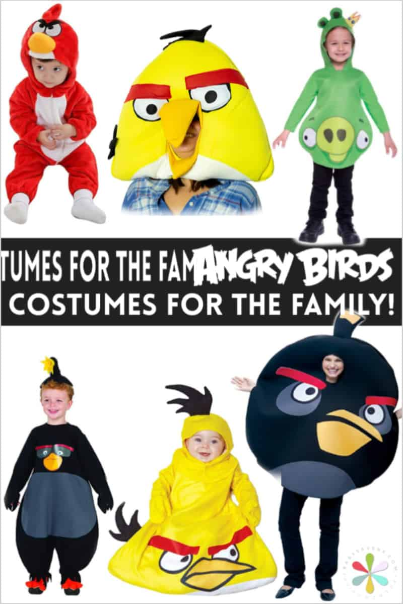 angry birds costumes for the family
