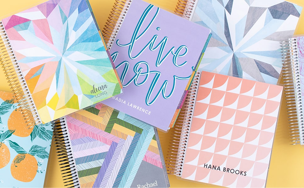 Erin Condren Deluxe Monthly Planner ways to use