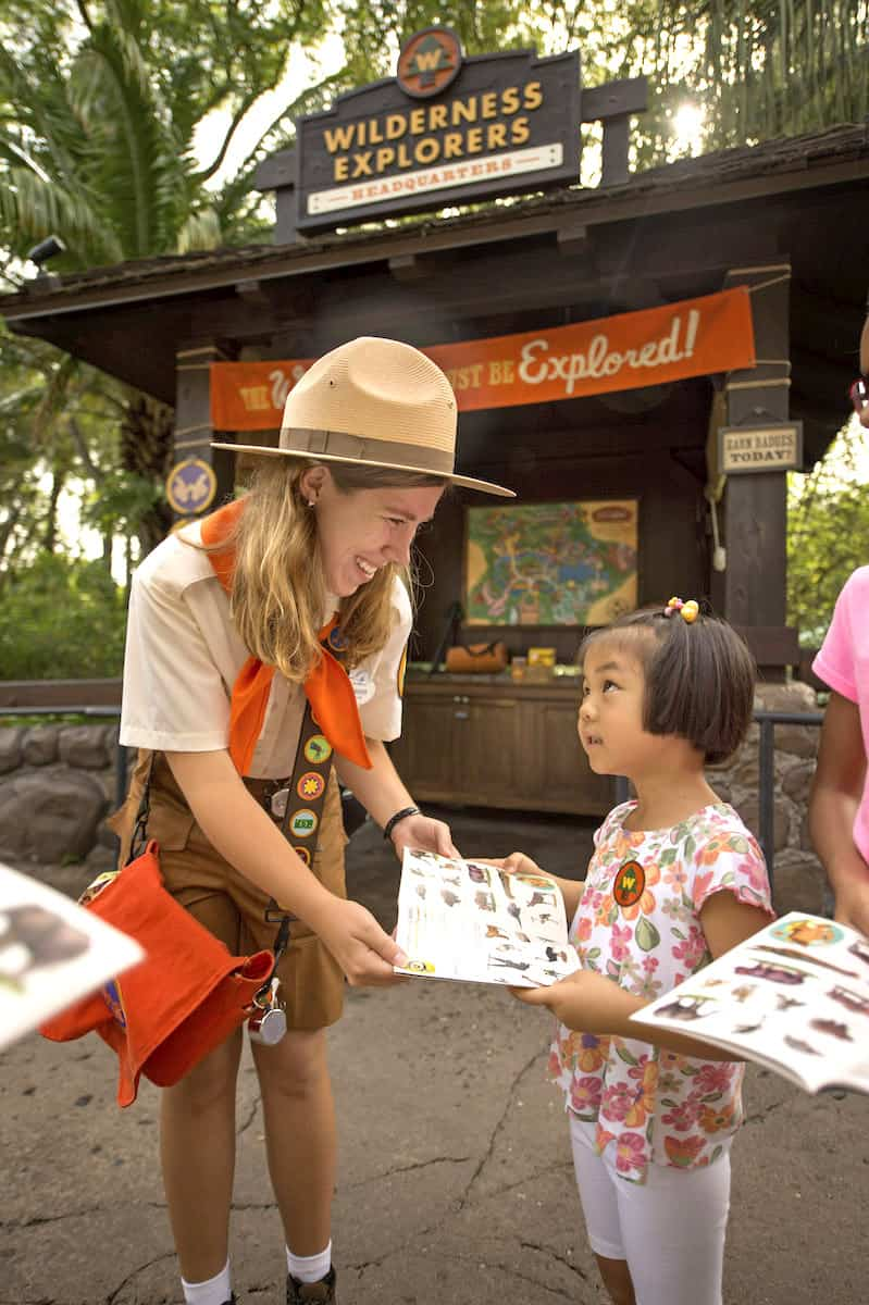 Disney World family activities Wilderness Explorers