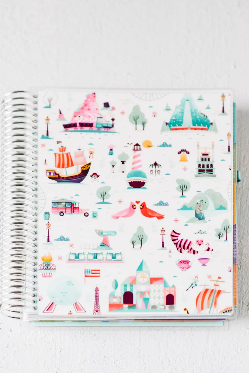 Erin Condren Deluxe Monthly Planner review order