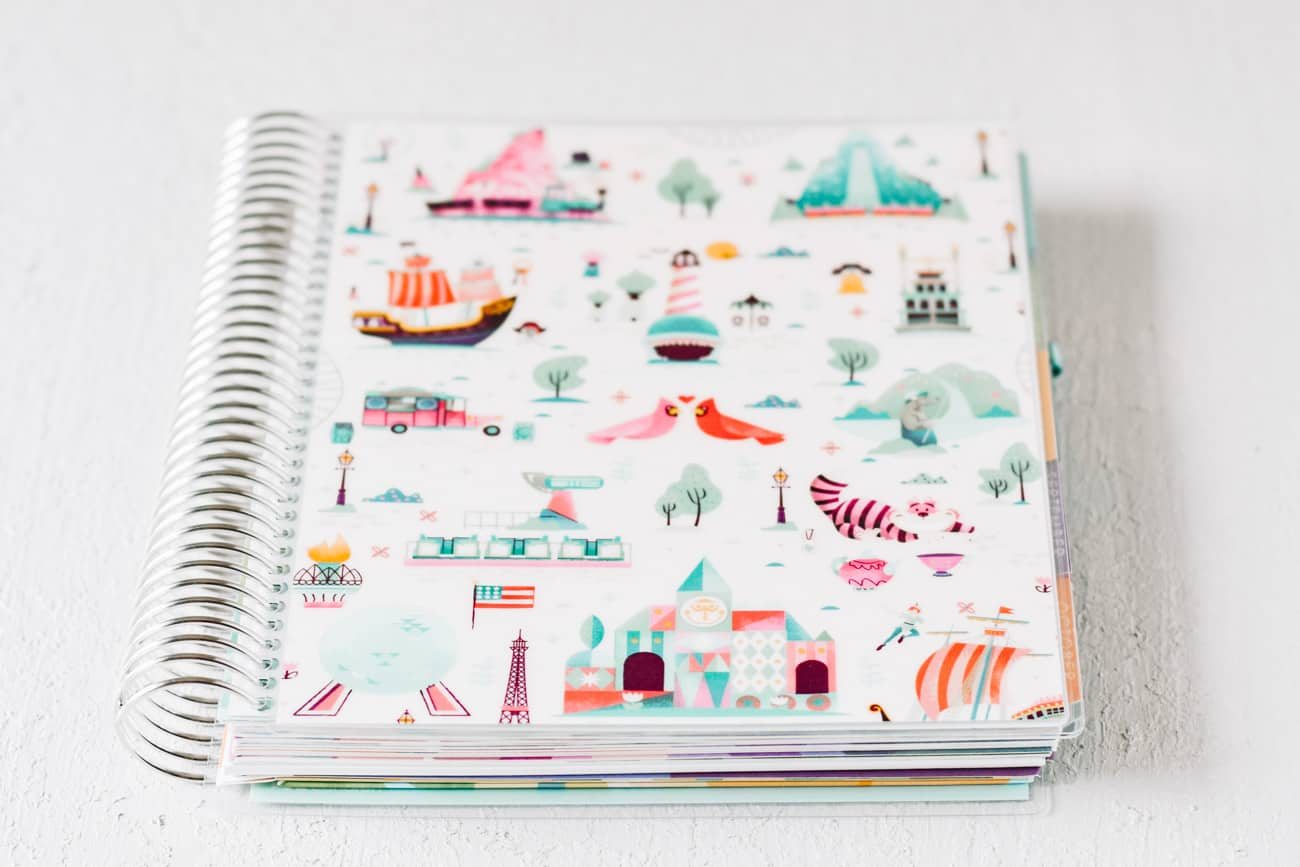 Erin Condren Deluxe Monthly Planner review full planner cover