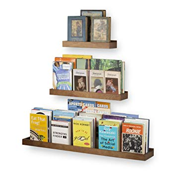 Modern Wood Floating Shelves