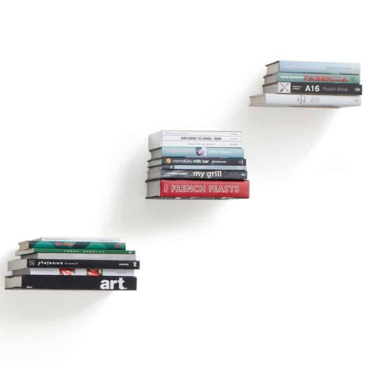 Umbra Floating Bookshelf, Set of 3
