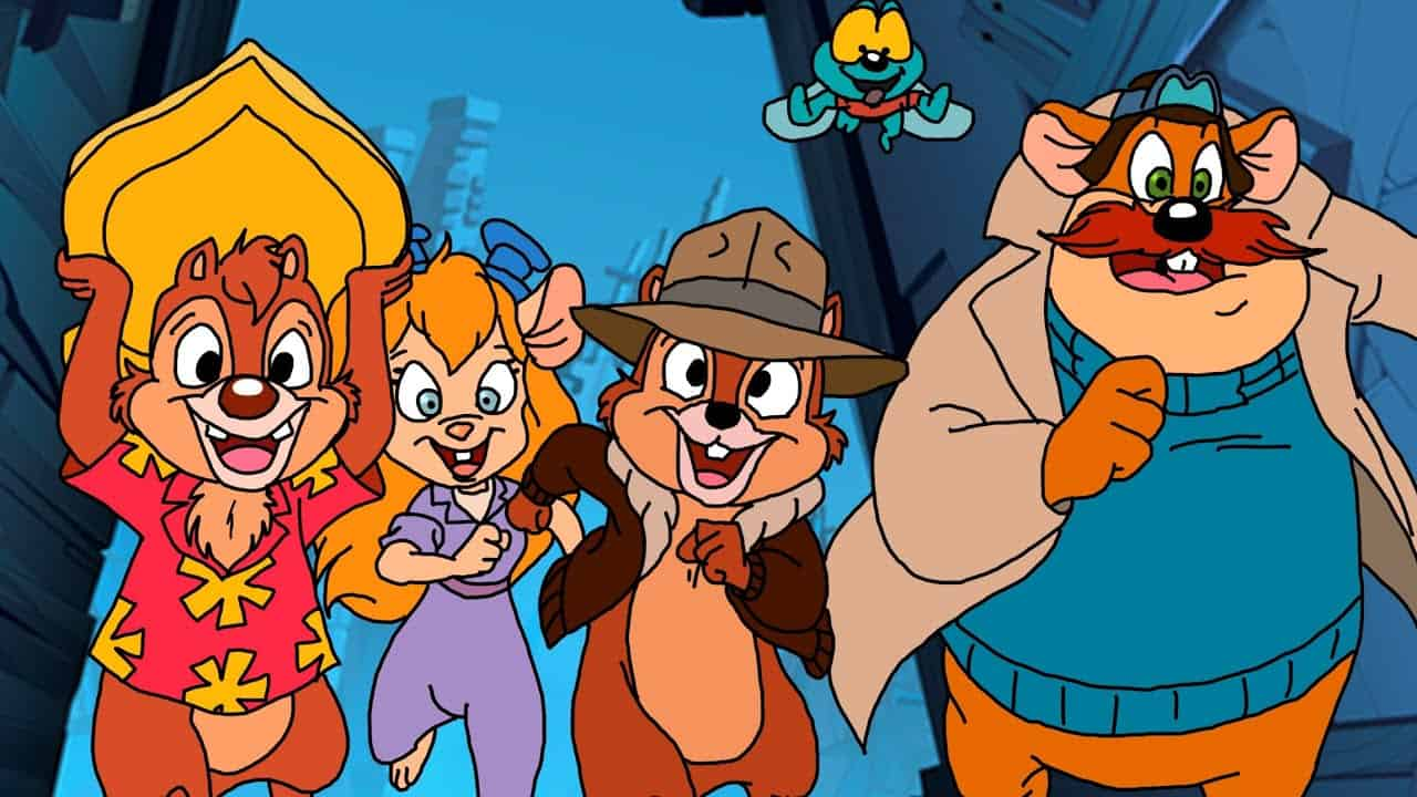 is disney plus worth it chip and dale rescue rangers