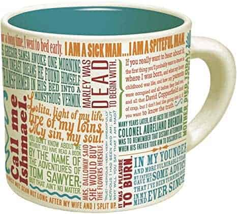 The Greatest Opening Lines Of Literature Coffee Mug