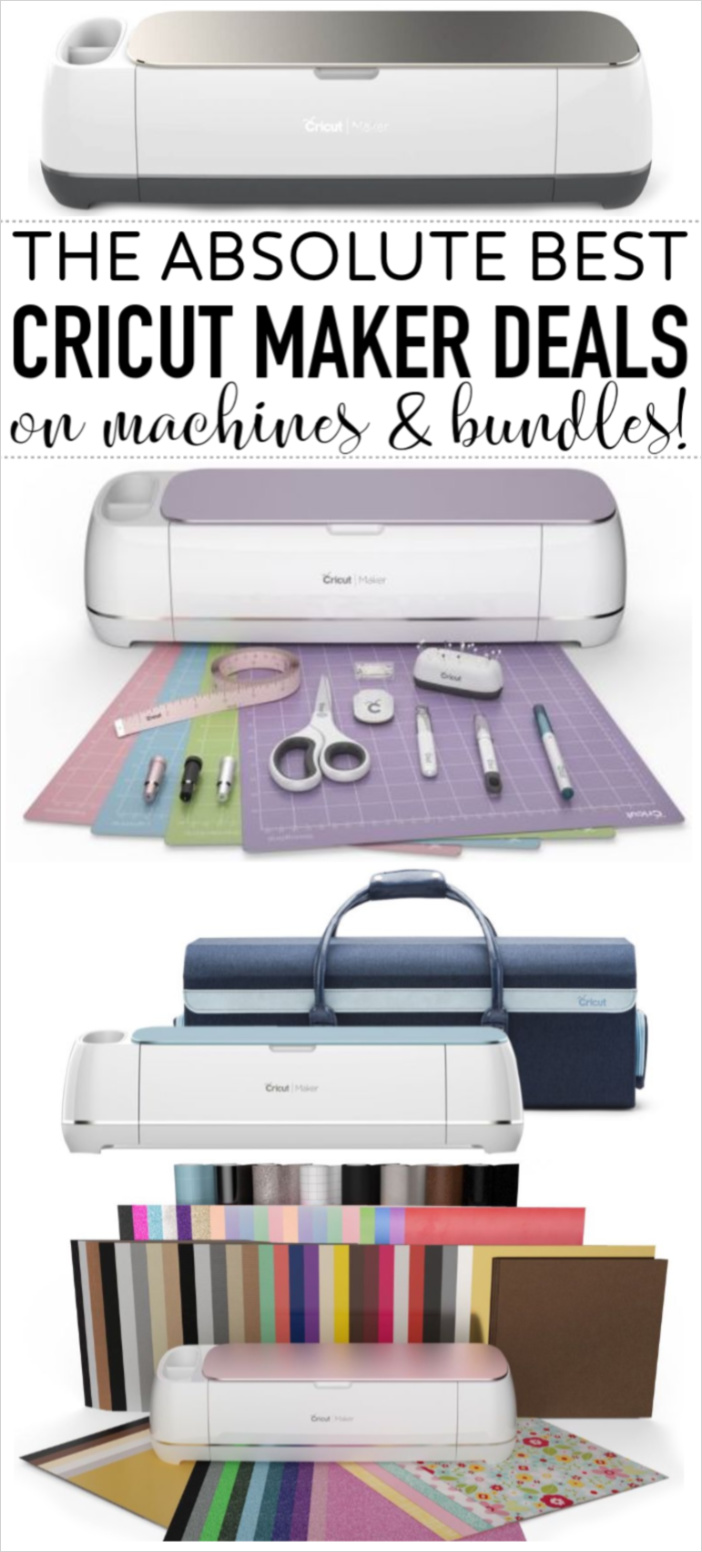 Cricut Maker Deals bundles