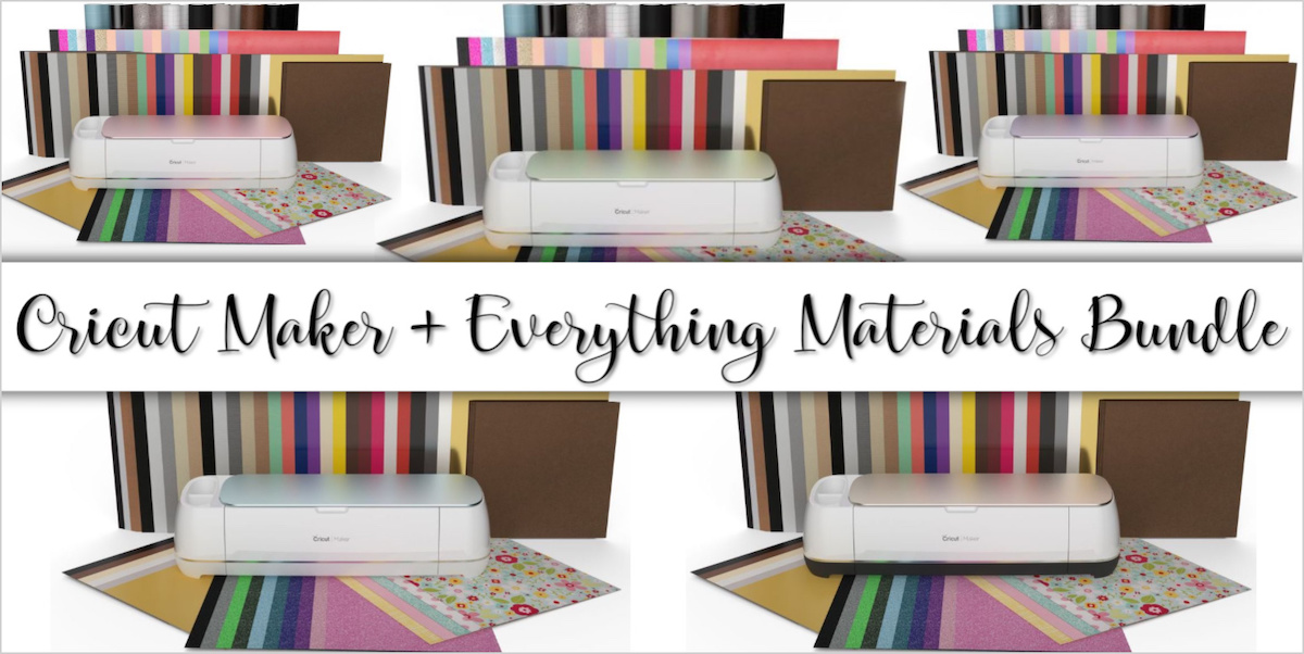 Cricut maker deals everything materials bundle
