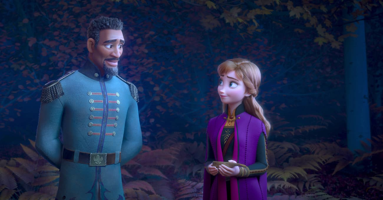 General Mattias with Anna in Frozen 2