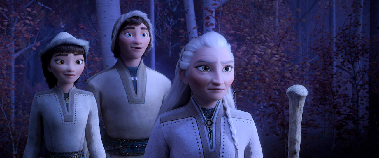Honeymaren Ryder and Yelena in Frozen 2