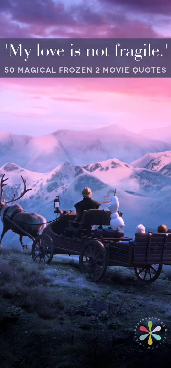 Frozen 2 scene with Kristoff Sven Elsa Olaf and Anna