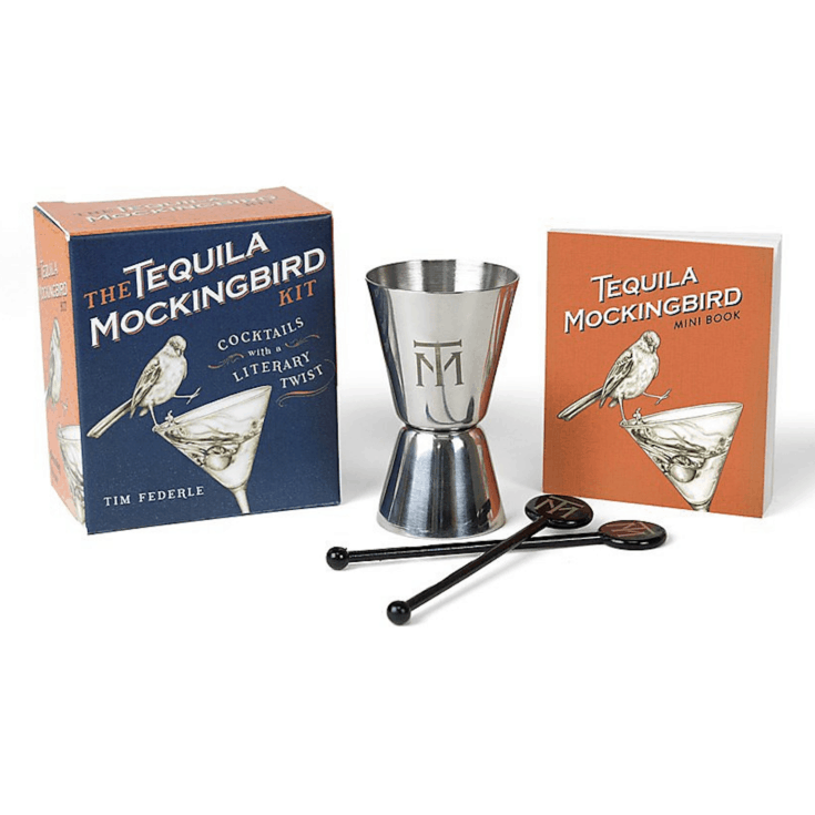 The Tequila Mockingbird Kit: Cocktails with a Literary Twist