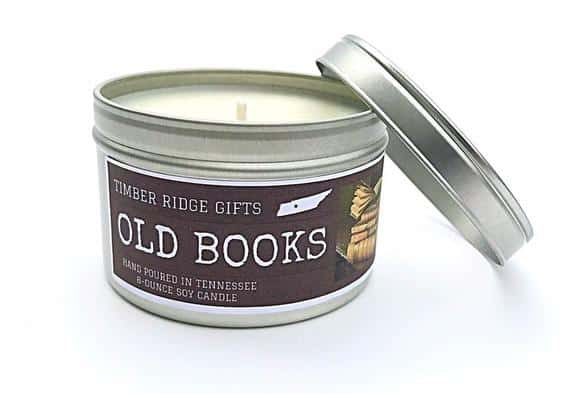 Book Lovers Candle