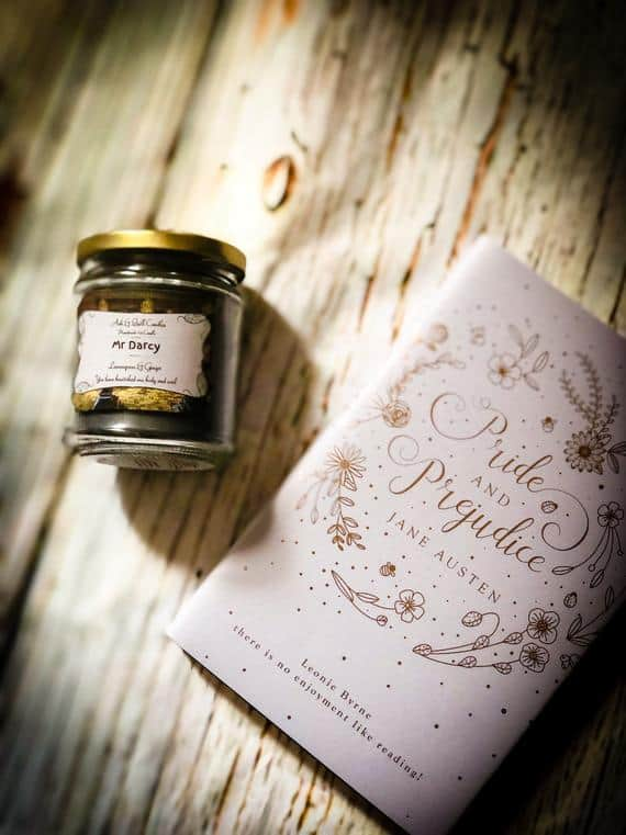 Mr Darcy Bookish Soy Candle