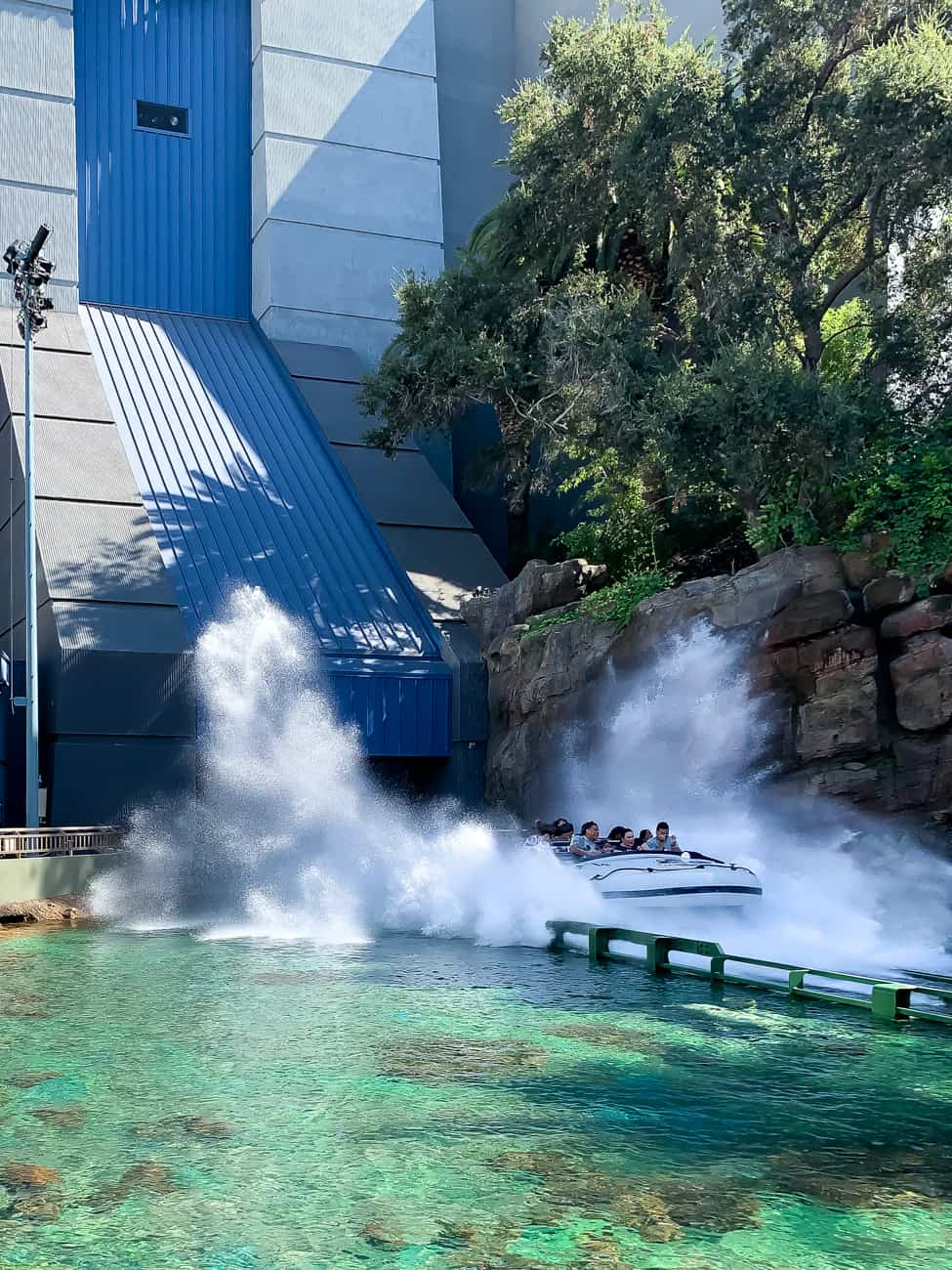 Jurassic World ride at Universal Studios