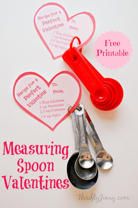 measuring spoon valentine