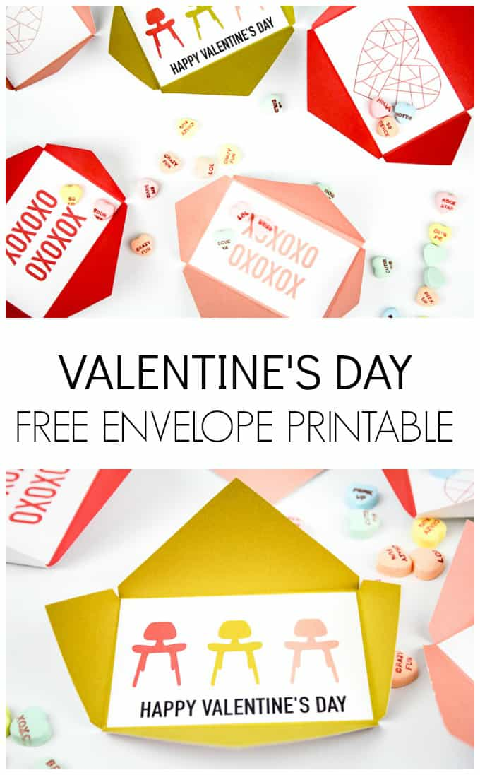 diy envelopes for valentines day