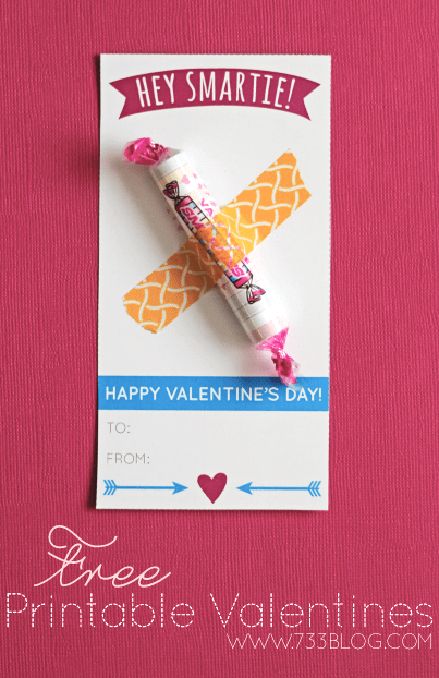 printable valentines for smarties