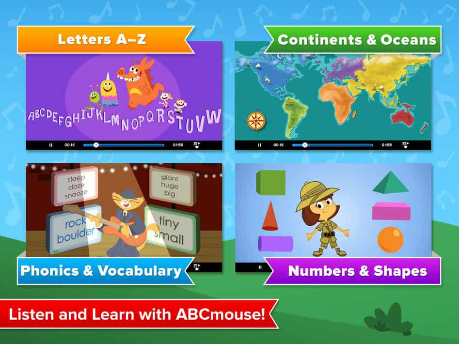 activities from abcmouse