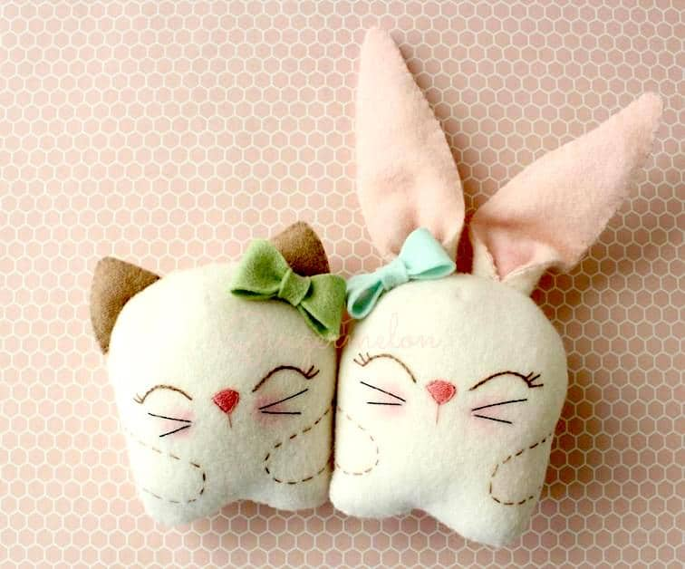 diy stuffed easter bunny pattern