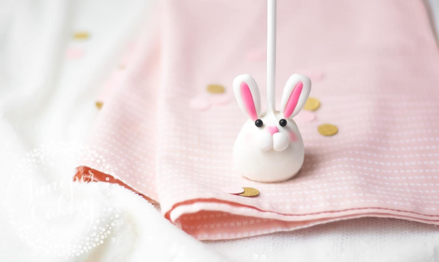 easter bunny cake pops craft tutorial